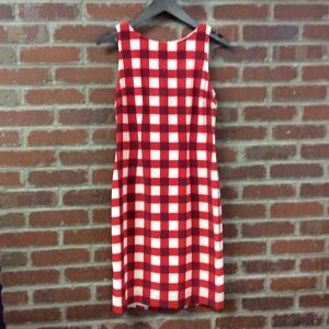 W by Worth Checkered Dress
